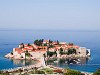 The island of Sveti Stefan
