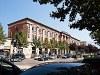 Kolóniális stílusú épület Tiranában
