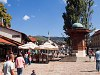 Szarajevo - a Bascarsija központja