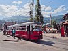 Szarajevo - bécsi E1-es villamos az egyes vonalon