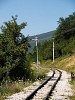 The unused but operational Višegrad to Mokra Gora section of the former Bosnian Eastern Railway