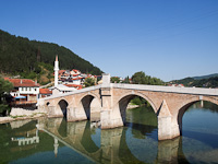Stari Kameni Most, old stone bridge at Konjic
