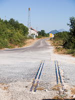 The old narrow-gauge railway station of Ljubovo-Duži, between Trebinje and Hum