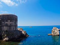 Dubrovnik, a Bokar erőd
