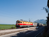 The ŽCG 461-035 seen between Virpazar and Vranjina at the coast of Lake Skadar