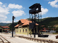 Coal and water loader at Šargan-Vitasi station