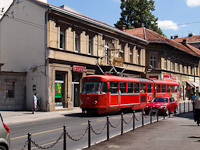 Szarajevo - Tatra K2-es villamos