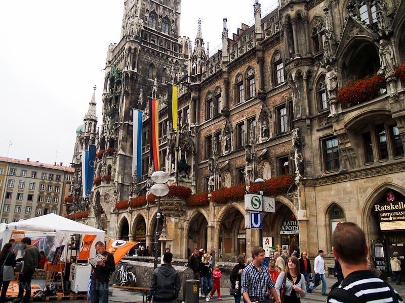 München - Rathaus (Városház fotó