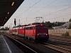 A DB AG 115 459-6 és a 120 150-8 Olchingben