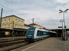 The Arriva 223 062 seen at Regensburg Hauptbahnhof