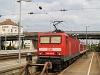 The DB AG 143 022-2 seen at Regensburg Hauptbahnhof