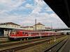Silberling ingavonat Regensburg Hauptbahnhofon