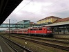 Silberling ingavonat Regensburg Hauptbahnhofon (DB AG 111 167-3)