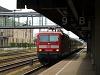 A DB AG 143 938-9 Trabi Silberling-ingával Regensburg Hauptbahnhofon
