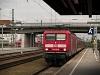 The DB AG 143 165-9 seen at Regensburg Hauptbahnhof