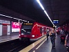 A DB AG 424 572/424 072 München Hauptbahnhof állomáson, az S-Bahn alagútban