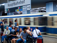 Egy ismeretlen MVG Baureihe A Hauptbahnhofon