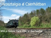 A historic train in the Cserhát mountains