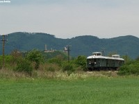 The historic BC mot DMU near Nógrád