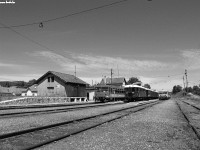 The historic BC mot DMU at Di�sjen�