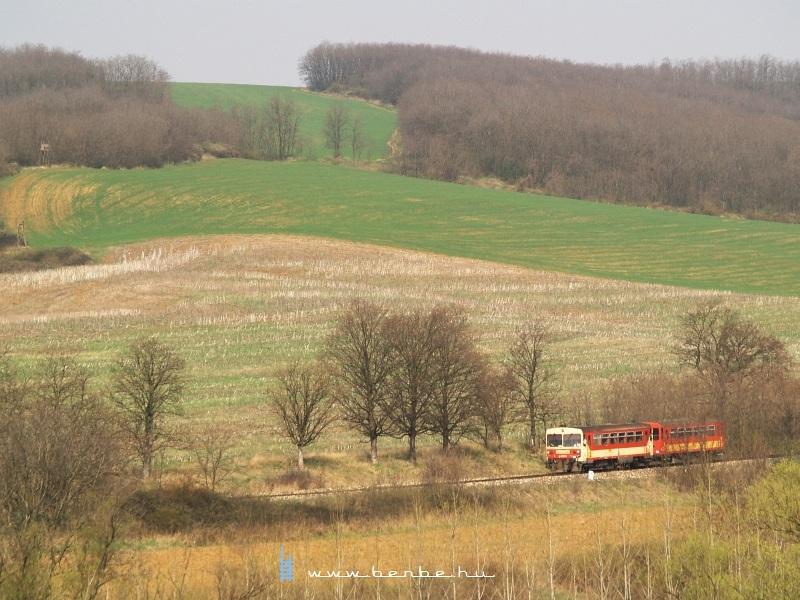 Bzmot 341 Magyarnándor és Becske alsó között fotó