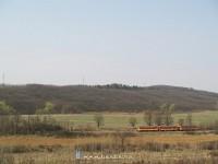 Bzmot 283 Magyarnándor és Becske alsó között
