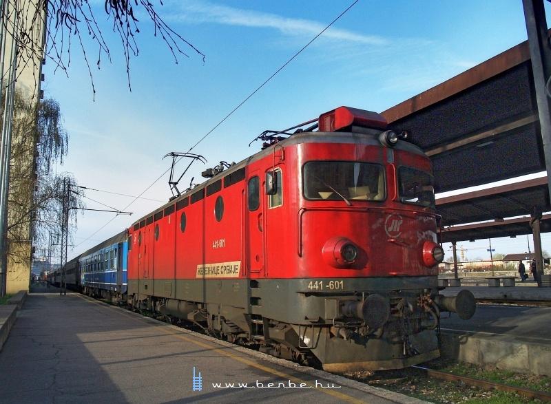 441-601 Belgrádban fotó