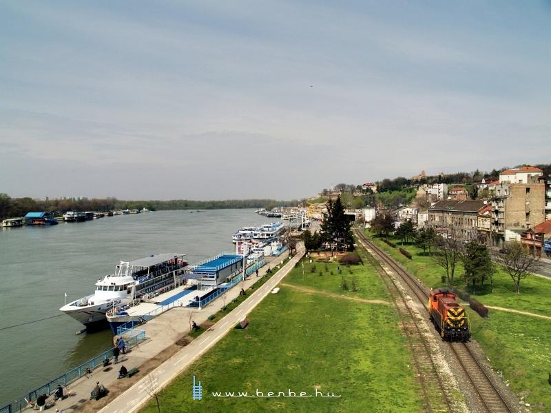 641-305 a Száva-parton fotó