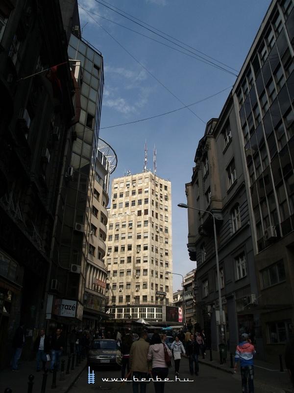 Sétálóutca Belgrádban fotó