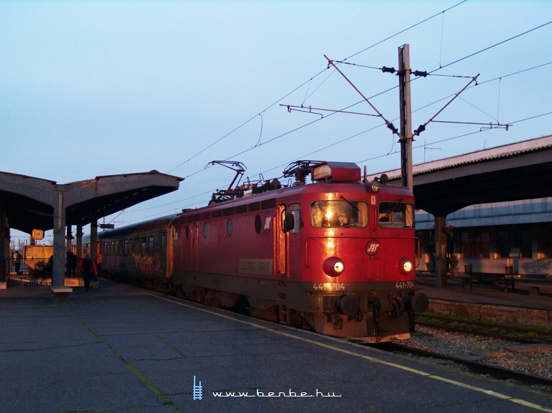 441-704 Újvidéken fotó