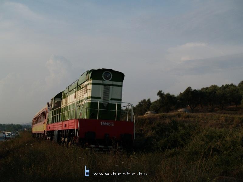 T669 1044 Dushk és Lushnje között (Jé, bunkerek!) fotó