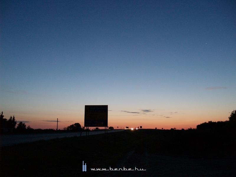 Napkelte Szabadkánál fotó