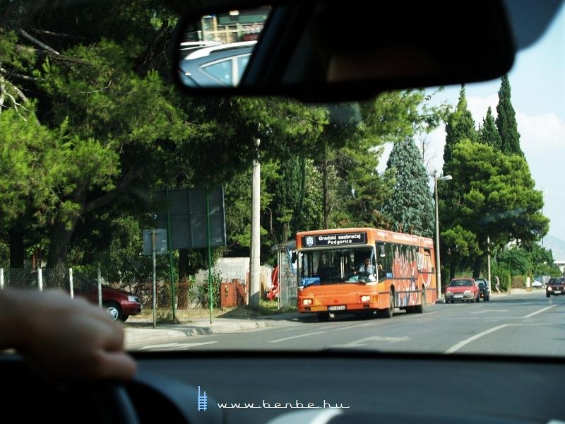 Busz Podgoricában fotó