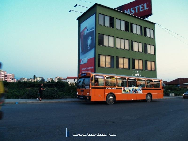 Busz Lezhében fotó