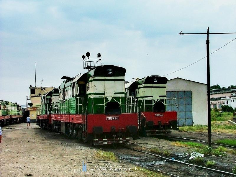 T669 1041 és 1057 Shkozetben fotó