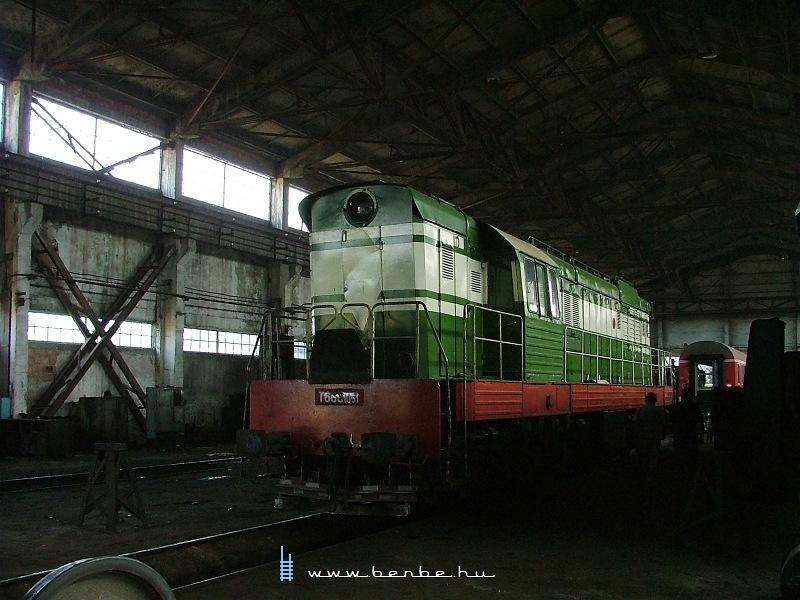 T669 1051 a shkozeti fûtõházban fotó