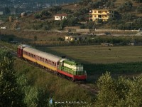 The T669 1057 between Rrogozhine and Dushk