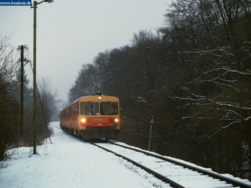 Bzmot 340 érkezik Magyarkútra fotó