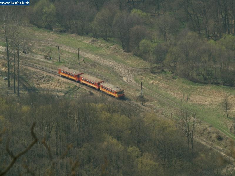 Bzmot 298 Szokolya állomáson fotó