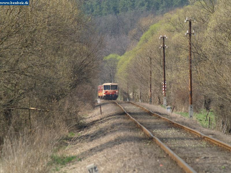 Bzmot 341 érkezik Szokolya felõl fotó