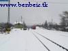 Diósjenõ állomás a hóban