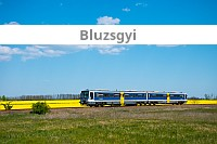 Bluzsgyi - The blue Sprinter railcar