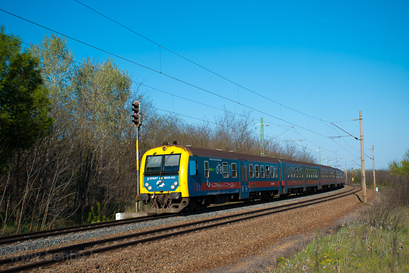 The MÁV-START 8005 431 seen photo