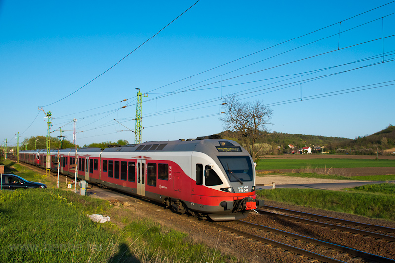 The MÁV-START 415 047 seen  photo