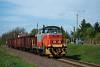 The MÁV-START 478 240 seen between Apc-Zagyvaszántó and Selyp