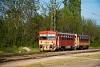 A MÁV-START 117 343 Vácrátót állomáson