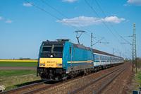 The MÁV-START 480 017 seen between Újszász and Tápiógyörgye
