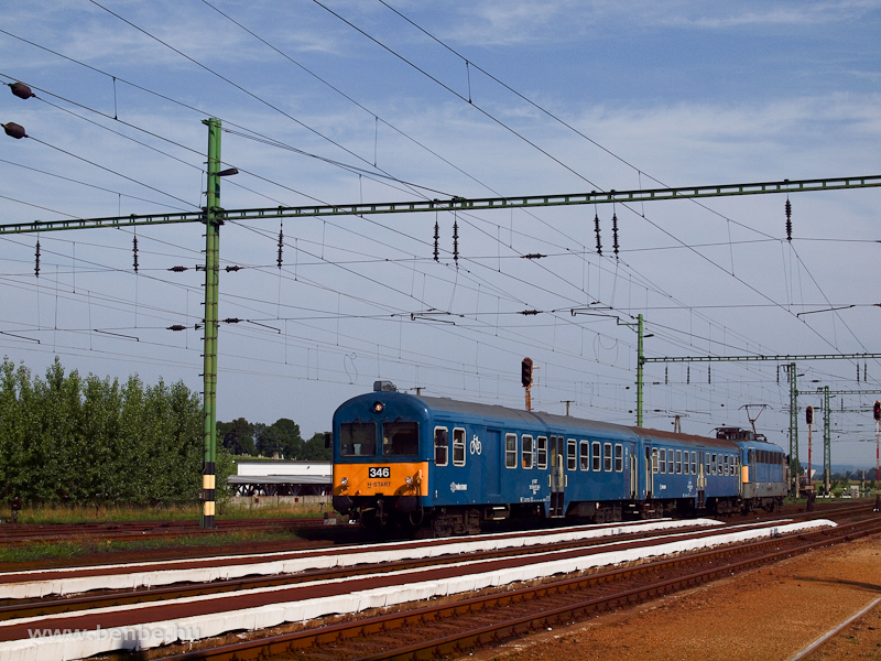A BDt 346 vezérlőkocsi Sajóecsegen fotó