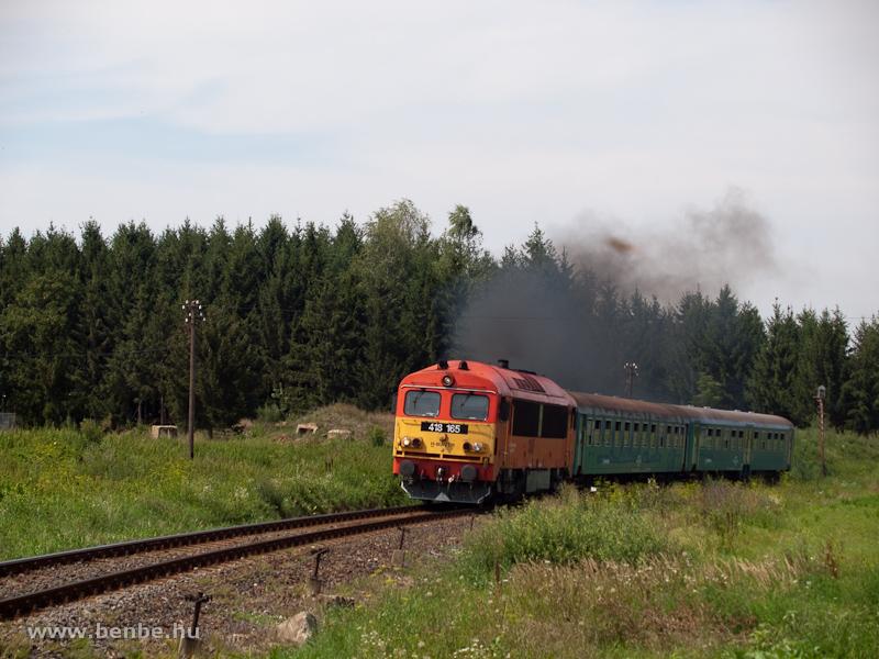 A M�V-TR 418 165 Szendrő �s B�d�sk�tpuszta k�z�tt fot�