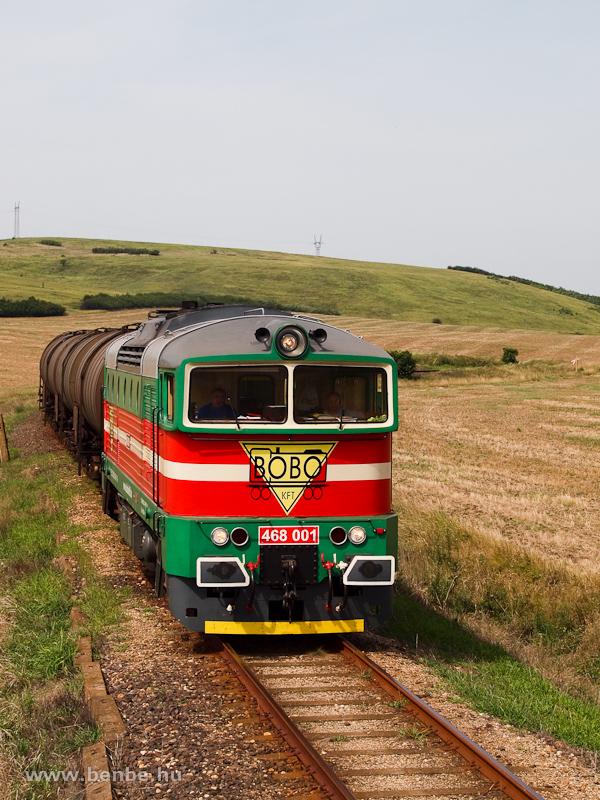 A Bobó kft. 468 001 pályaszámú Búvárja Sajóbábony és Sajóecseg között fotó